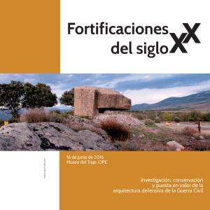 Congreso Fortificaciones Madrid