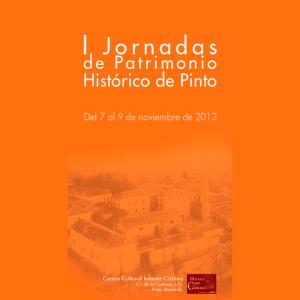 I Jornadas Patrimonio Histórico Pinto
