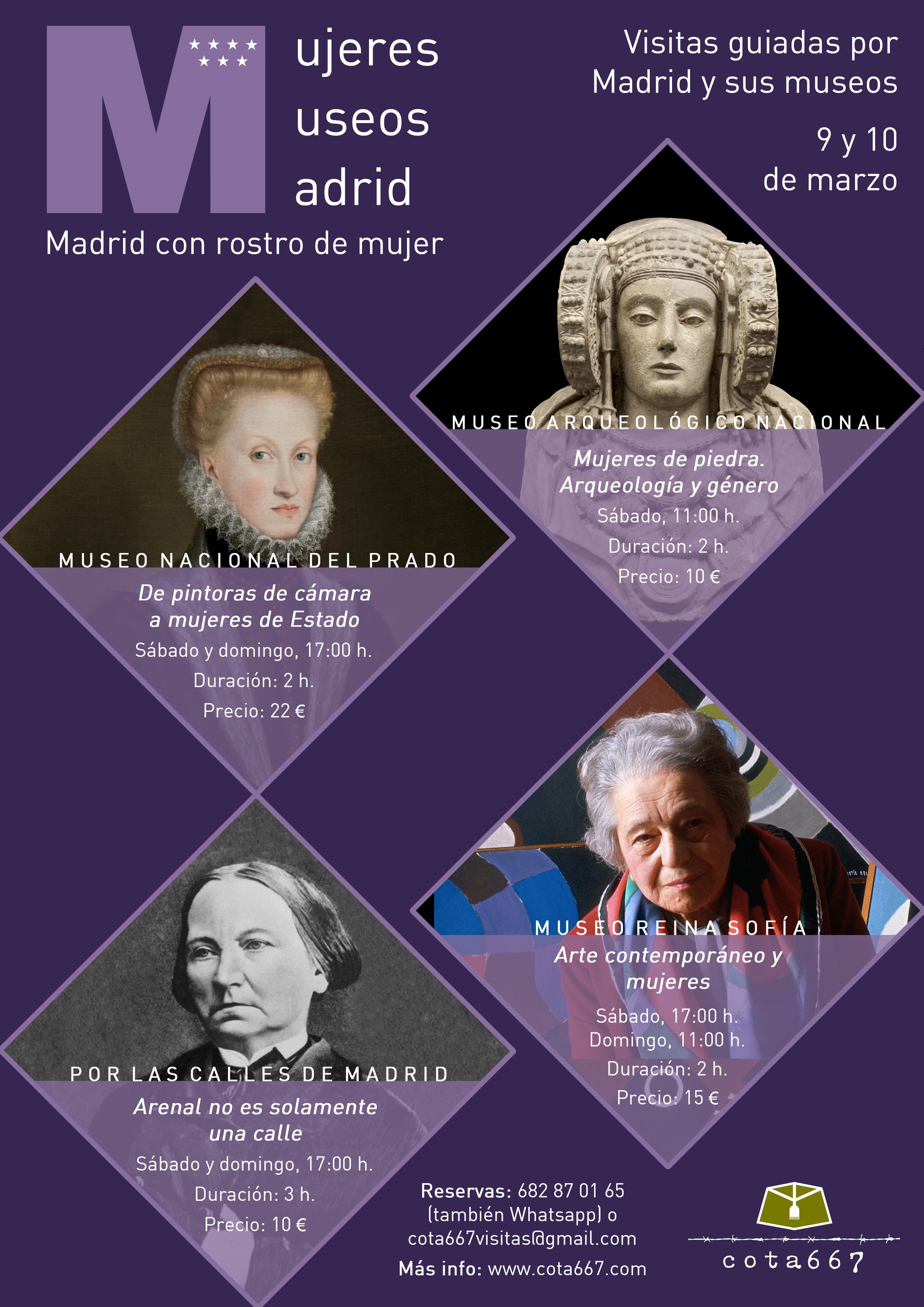 Cartel Madrid con rostro de mujer (2)